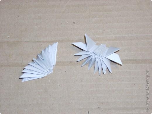 Мастер-класс Новый год Оригами китайское модульное Динозаврик Бумага фото 9