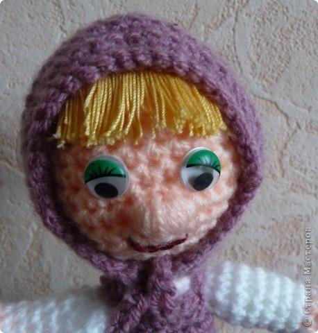 Вот такая у нас МАША. Высота куклы 22см фото 3