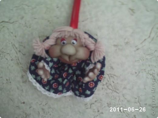кукла попик. Кукла на удачу фото 2