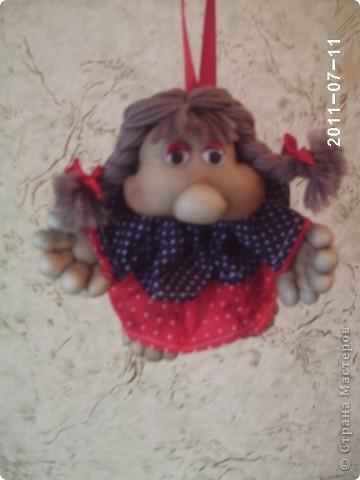 кукла попик. Кукла на удачу фото 3