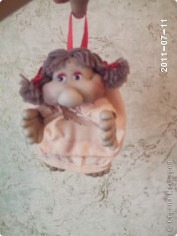кукла попик. Кукла на удачу фото 5