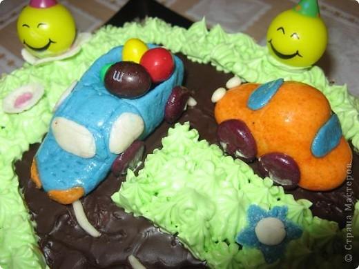 Этот тортик я испекла на день рождения своего сыночка фото 3