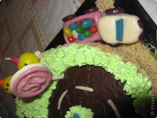 Этот тортик я испекла на день рождения своего сыночка фото 4