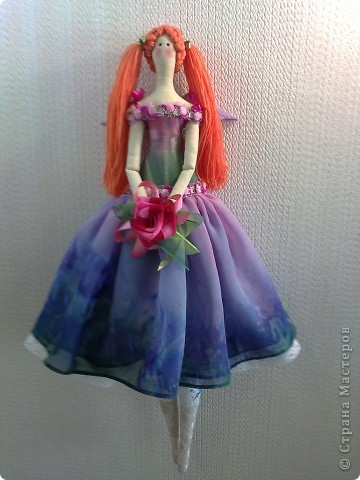Цветочный ангел Скарлет. фото 3