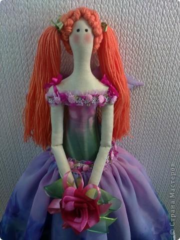 Цветочный ангел Скарлет. фото 4