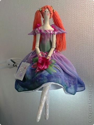 Цветочный ангел Скарлет. фото 1