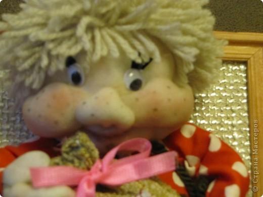 Всё ещё учусь шить кукол из капрона... фото 2