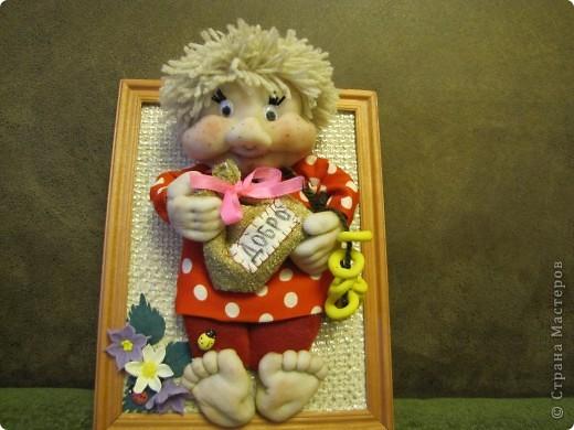 Всё ещё учусь шить кукол из капрона... фото 1