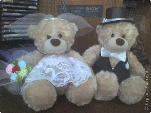 Свадебные медвежатки