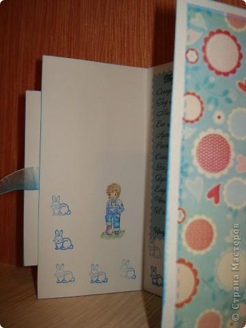 Вот такие открыточки я сотворила по поводу и без повода. В качестве основы - бумага для акварели. Фоны распечатывала.  фото 6