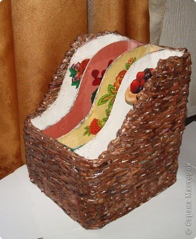 Корзинка для булочек или фруктов. фото 3