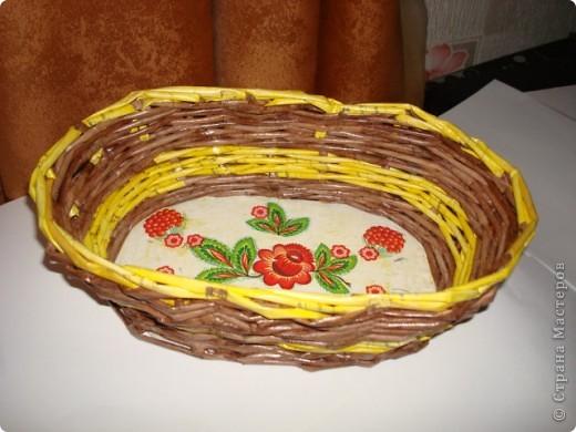 Корзинка для булочек или фруктов. фото 4