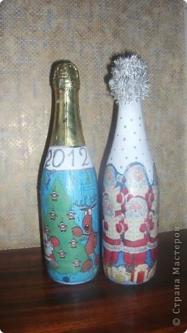 Новогодние бутылки