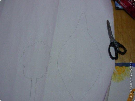 Рисуем выкройку на бумаге фото 1
