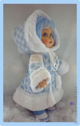 Снегурочка. Текстильная кукла.  фото 1