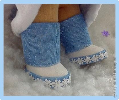 Снегурочка. Текстильная кукла.  фото 4
