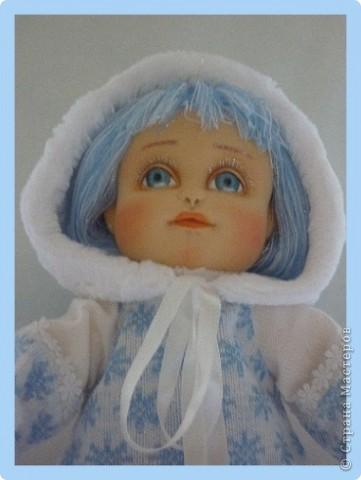 Снегурочка. Текстильная кукла.  фото 5