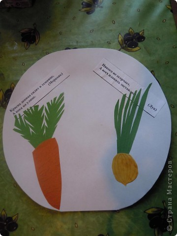 Сделали с дочкой первоклассницей для школы такую вот книжечку в виде арбуза с загадками про урожай . фото 7