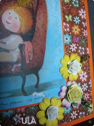 """Использована картинка Евгении Гапчинской под названием """"Некоторые девочки рождаются сразу принцессами"""". фото 3"""