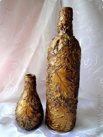 Моя любимая тема листья в золоте.  фото 7