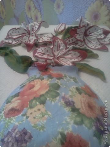 Вот такой букет сделала ко дню матери, своей любимой мамочке! фото 3