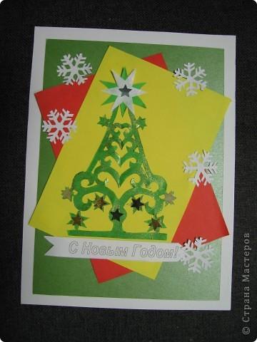 3 новогодних открытки фото 1