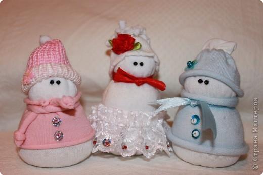 Снеговички.