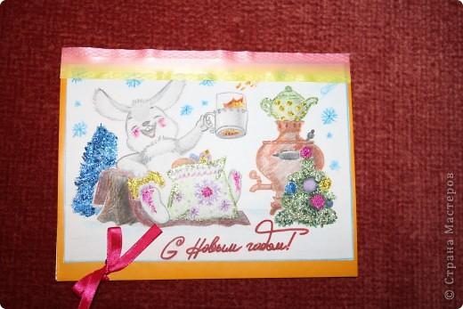 Скоро Новый год, пора готовить поздравления! Для меня этот праздник, ассоциируется с советскими открытками, они самые искренние, добрые и красивые)  фото 1