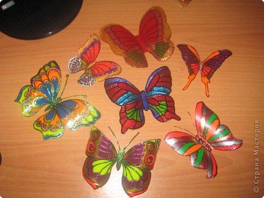 Так захотелось повторить многочисленные работы по созданию бабочек и вот что получилось. фото 1