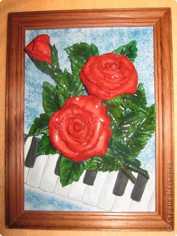 Скромненький букетик роз слепился п водарок любимой учительнице. фото 1