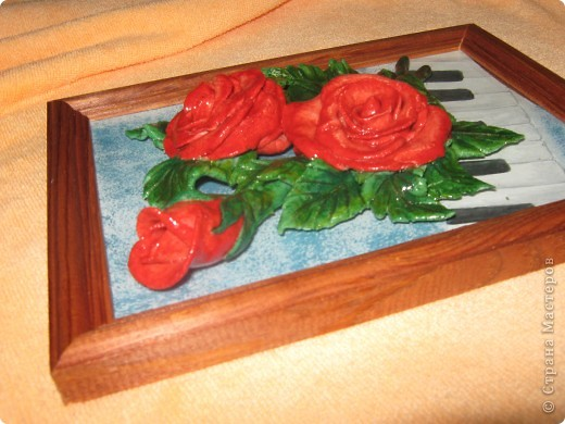 Скромненький букетик роз слепился п водарок любимой учительнице. фото 2