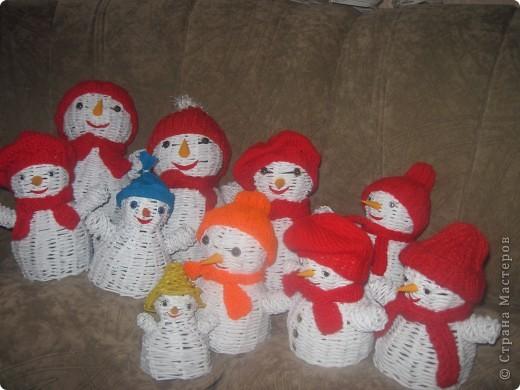 Снеговички и Ангелочки в подарок родным и близким фото 1