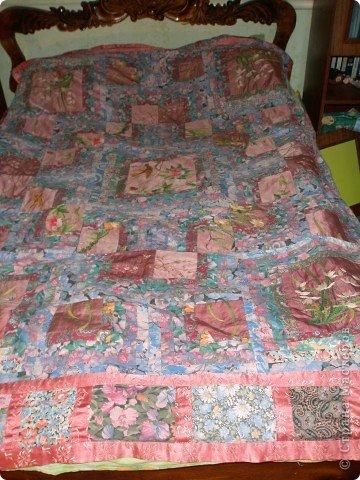 Одеяло. Отреставрировала поизносившееся. фото 3