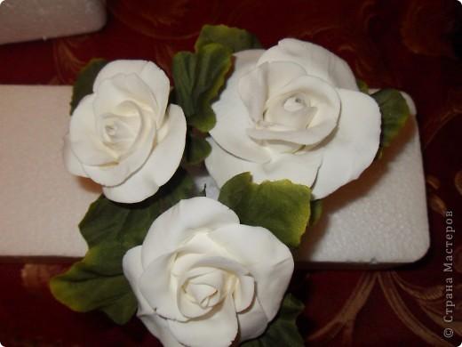 Первые цветочки из глины Hearty фото 3