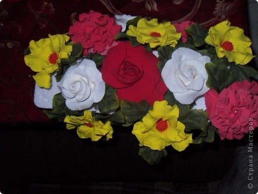 Первые цветочки из глины Hearty фото 2