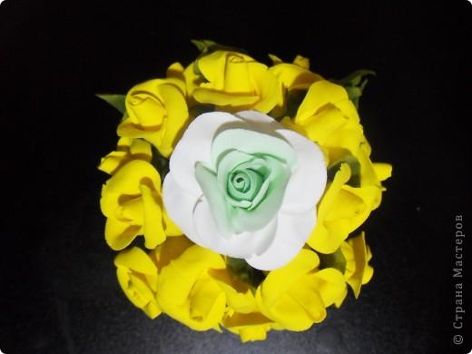 Первые цветочки из глины Hearty фото 1