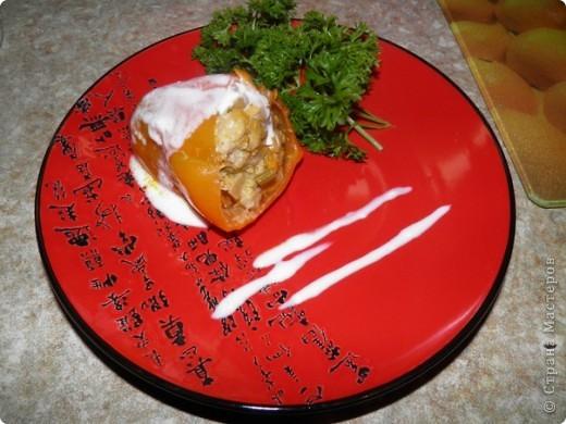 Свинина - 500 г Перец - 12 шт Лук - 2 шт Морковь - 2 шт Корень петрушки Укроп Чеснок - 4 зубчика Томатная паста - 1 ст.л. Сроль, перец Растительное масло для жарки. фото 1