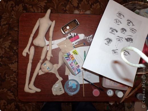 Куколка создавалась под впечатлением первой продажи . Куколка Лолита нашла свою хозяйку.Я очень рада!.Честно говоря, даже не думала продавать свои работы. Все предыдущие были подарены. фото 2