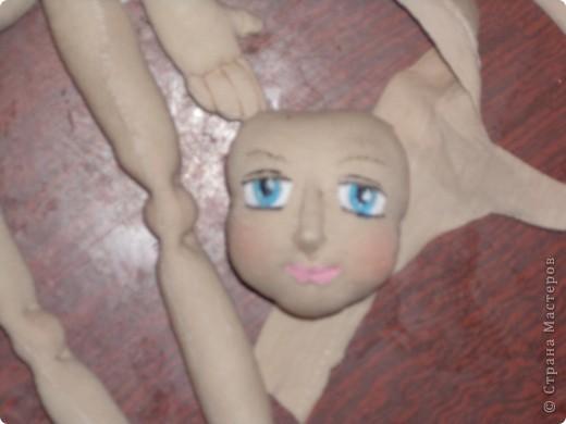 Куколка создавалась под впечатлением первой продажи . Куколка Лолита нашла свою хозяйку.Я очень рада!.Честно говоря, даже не думала продавать свои работы. Все предыдущие были подарены. фото 3
