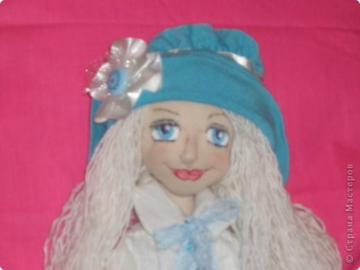 Куколка создавалась под впечатлением первой продажи . Куколка Лолита нашла свою хозяйку.Я очень рада!.Честно говоря, даже не думала продавать свои работы. Все предыдущие были подарены. фото 7