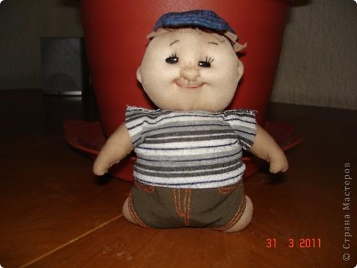 """Это первая кукла, которую я сделала по МК из """"Страны мастеров"""". С нее все и началось... фото 1"""