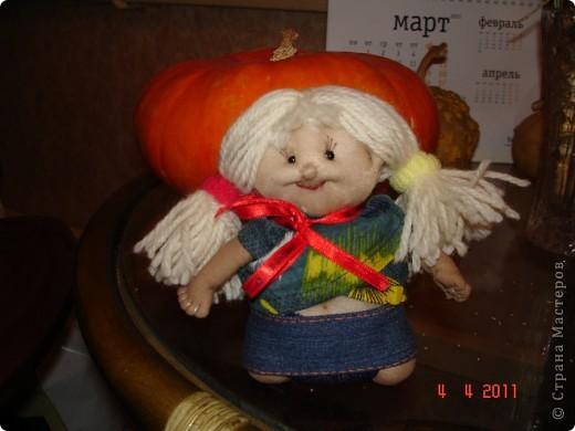 """Это первая кукла, которую я сделала по МК из """"Страны мастеров"""". С нее все и началось... фото 3"""