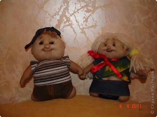 """Это первая кукла, которую я сделала по МК из """"Страны мастеров"""". С нее все и началось... фото 4"""