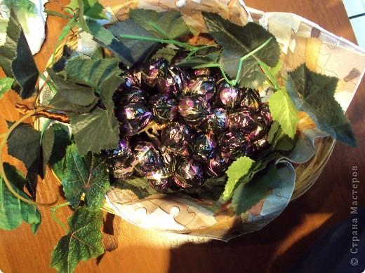 Сладкая гроздь винограда. фото 1