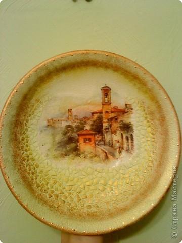 вот такая тарелочка получилась у иеня фото 2