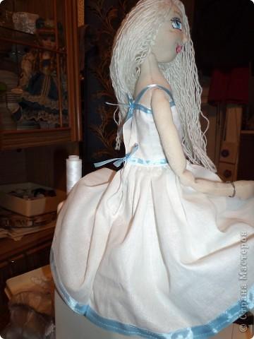 Куколка создавалась под впечатлением первой продажи . Куколка Лолита нашла свою хозяйку.Я очень рада!.Честно говоря, даже не думала продавать свои работы. Все предыдущие были подарены. фото 11