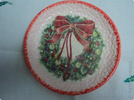 Новогодние тарелочки фото 3