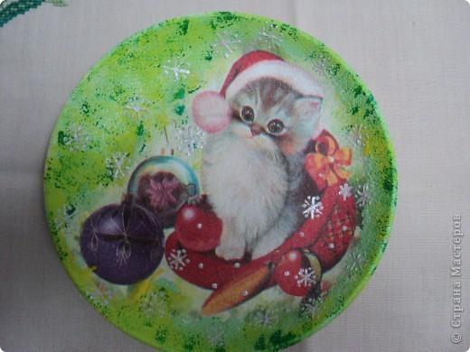 Новогодние тарелочки фото 1