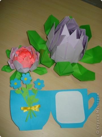 Всем здравствуйте! Два занятия мы готовились к Дню мам. Предлагаю посмотреть, какие сувениры мы приготовили. фото 2