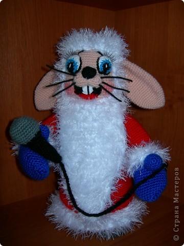 "Заяц из м/ф ""Ну, погоди!"" автор игрушки Елена Белова фото 1"